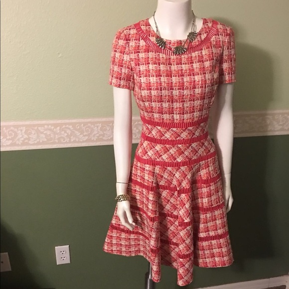 Oscar de la Renta Dresses & Skirts - Oscar De La Renta Tweed Sheath Dress short sleeve